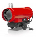 Indirect fired oil heaters